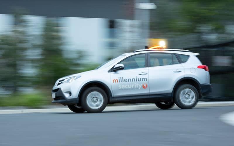 millennium security car